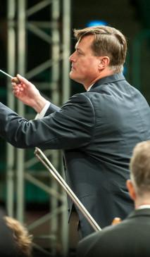 Christian Thielemann mit der Staatskapelle Dresden in Bayreuth
