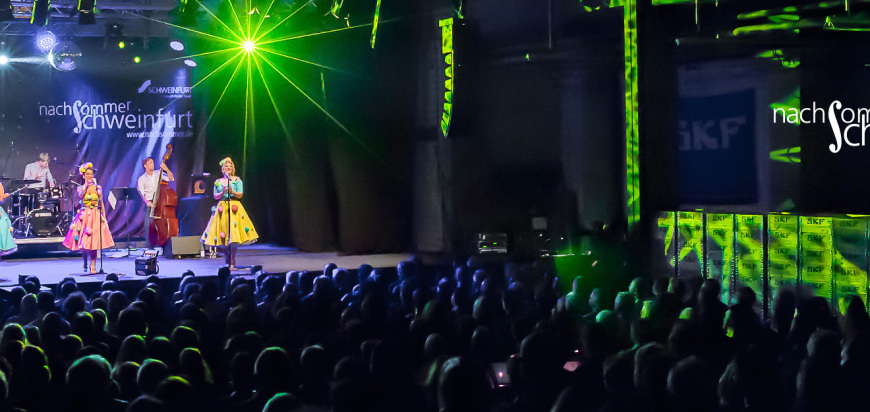 The Puppini Sisters beim Nachsommer Schweinfurt 2016 (c) Anand Anders